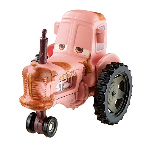 Disney Pixar Cars Deluxe Oversized Die-Cast Vehicle, Tractor (Disney Pixar Cars Diecast Lizzie)