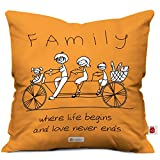 Best Family Gifts - Indigifts Family Love Never Ends Quoted Micro Satin Review