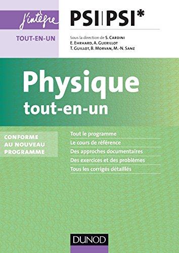 Physique tout-en-un PSI-PSI* - nouveau programme 2014