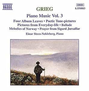 Grieg: Piano Music, Vol. 3