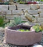 Grazia aus Werksandstein inkl. Pumpe Gartenbrunnen Wasserspiel Steinbrunnen Felsbrunnen