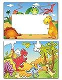 Kindergeburtstag Dinosaurier Einladungen Einladungskarten Geburtstagseinladungen - 10 Stück mit Vulkan aus der Steinzeit