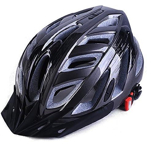 Bicicletta casco montagna uomini e donne strada bicicletta casco in un casco Caschi Accessori per biciclette , metal ash