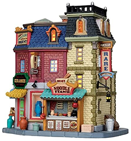 LEMAX caddington Village Oriental Keramik Geschenk Shop erleuchtet Building 15250