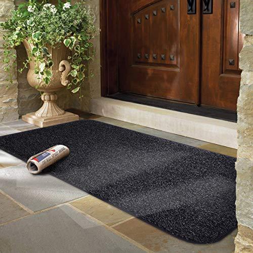mayshine® Anti-Rutsch-Fußmatte Baumwolle Fußmatte Schlamm Schmutzfangmatte Fußmatte Fußmatte Eingang Schuh Schaber Boden Innen Außen 60x100cm
