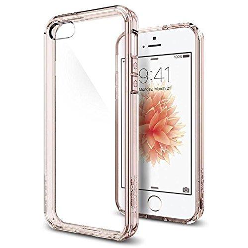 cover-iphone-5-spigen-cover-iphone-5s-se-assorbimento-urto-ultra-hybrid-rose-crystal-aria-cuscino-te