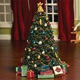 The Dolls House Emporium Dekorierter Weihnachtsbaum (Kunststoff)