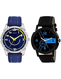 Tarido Black Dial Analog Wrist Combo Watch For Men/Boys