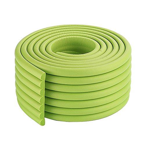 2x2m / 13ft dauerhaft in grün Schutz Eckkissen Stuhl Kantenschutz Gummikante für Baby-Kind-Kinder