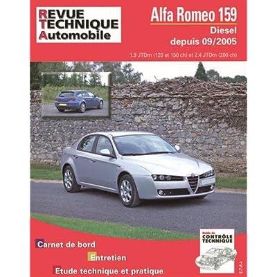 Alfa Roméo 159 1.9 et 2.4 JTD