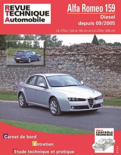 Alfa Roméo 159 1.9 et 2.4 JTD par ETAI