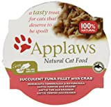 Applaws Cat Pot Succulent Tuna with Crab, Pack of 10
