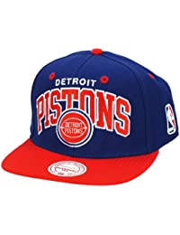 DETROID PISTONS - MITCHELL & NESS SNAPBACK - TEAM - BLUE / RED Größentabelle: One-size-fitts-all
