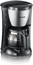 Kaffeeautomat, ca. 650 W, bis 4 Tassen, Wasserstandsanzeige, automatische Abschaltung, Schwenkfilter 1 x 2 mit Tropfverschluss