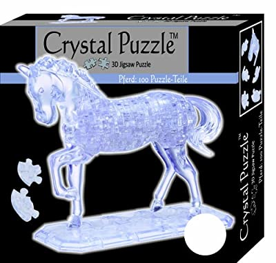HCM Kinzel 9001 - Puzzle de cristal en 3D diseño Caballo [Importado de Alemania] de HCM Kinzel