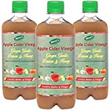 Shrey's Apple Cider Vinegar With Ginger, Garlic, Lemon & Honey - 500 Ml | Natural & Unfiltered With Mother Of...