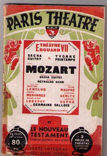Paris-Theatre, n°9 : Mozart et le nouveau testament