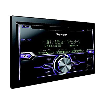 Pioneer FH-X720BT Double Din Car Stereo for MIXTRAX EZ/iPod/iPhone and Android Media Access