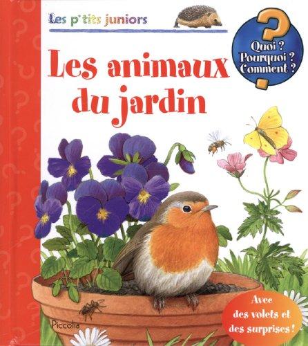 Les animaux du jardin
