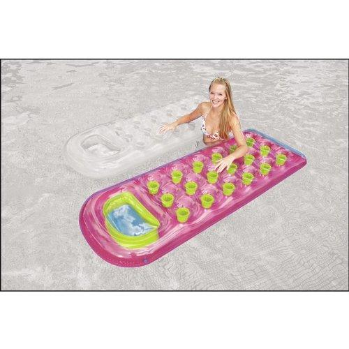 Intex 59895EU Luftmatratze Sonnenanbeter, sortiert - Farbe: Pink