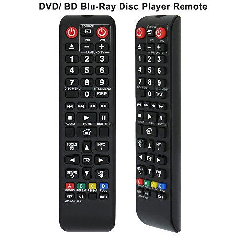 Alkia AK59-00149A Fernbedienung Ersatz für Samsung DVD BD BLU-RAY DISC Player Fernbedienung, geltenden BDF5100/ZA bd-es5300 bd-fm51 bd-fm57 C bd-h5100 bd-h5900 bd-hm51 bd-j5100 bd-j5700 bd-j5900