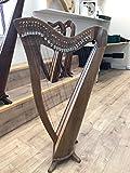 28Saiten Walnuss Harfe, 28Saiten Keltisch Irisch Harfe, Irish Hebel Harfe
