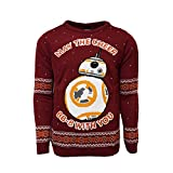 Star Wars Official BB-8 Christmas Jumper/Ugly Sweater- (UK 4XL/US 3XL)