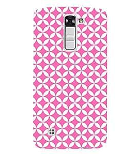 Triangle Art Pattern 3D Hard Polycarbonate Designer Back Case Cover for LG K7 4G Dual