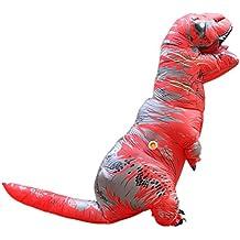 Disfraces de Hinchable T Rex Dinosaurio inflable para Adultos Cosplay para Fiesta Halloween