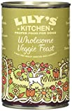 Lily's Kitchen Wholesome Veggie Feast Wet Food for Dogs, 375 g, Pack of 6