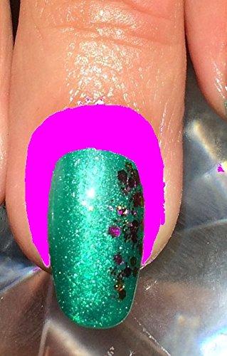 10 ml Skin Cover PINK. ( 39,90 euro/100ml)In Pinselflasche. Nagelhautschutz.(Wird nach dem lackieren abgezogen). Color Your Nails