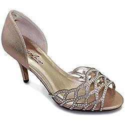 Sapphire Boutique by Sapphire , Damen Pumps Champagne (Shoe Only)