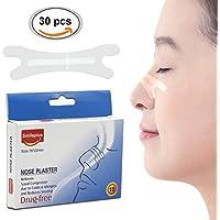 Nasenpflaster, Nasenstrips, Anti Schnarch SchnarchStopper, 30pcs Soforthilfe gegen das Schnarchen und fur verbessertes... preisvergleich bei billige-tabletten.eu