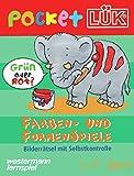 PocketLÜK: Farben- und Formenspiele: 5 - 7 jahre