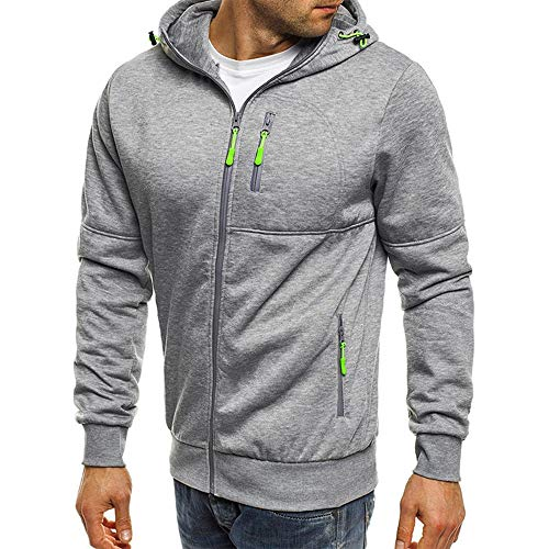 x8jdieu3 Frühling und Herbst Neue Hoodie Slim Pullover Shirt Reißverschluss mit Kapuze dünne Jacke Sweatshirt