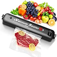 Vacuum Sealer, 2020 Upgraded Automatic Food Preservation Vacuum Air Sealer with 15 Sealing Bags,Food Sealing M