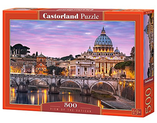 Castorland B-52493 - Puzzle View of the Vatican, 500 Teile