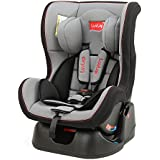 LuvLap Sports Convertible Car Seat for Baby & kids from 0 Months to 2 Years (Grey & Black)