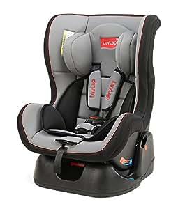 Luvlap Baby Convertible Sports Car Seat, Grey/Black