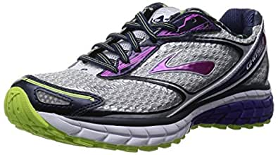 Brooks Ghost 7, Women's Training Shoes, White (weiß/lila/gruen 124), 4.5 UK