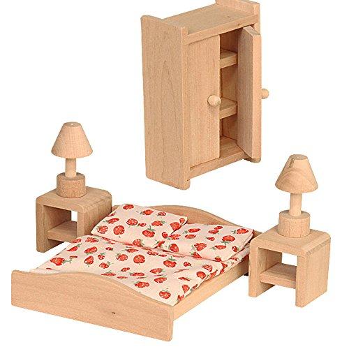 Beluga Spielwaren 70116 - Schlafzimmer, Puppenhausmöbel