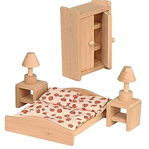 Beluga 70116 - Muebles de Dormitorio para casa de muñecas