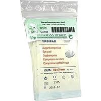 AUGENKOMPRESSEN 56x70 mm steril 5 St Kompressen preisvergleich bei billige-tabletten.eu