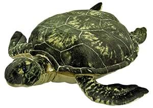 Plüschtier Schildkröte - grau-grün - 80 cm