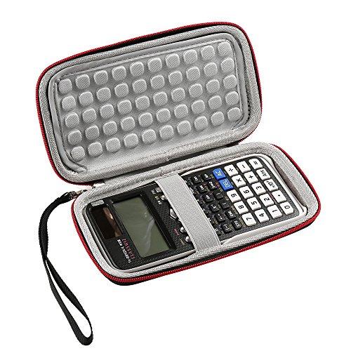 Luckynv Hard EVA Storage Box mit Travel Tasche Schutzhülle für Casio FX-991EX / FX-991DE / FX-82DE Plus / FX-85DE Plus Wissenschaftlicher Taschenrechner und mehr