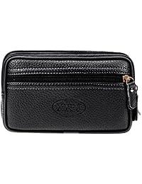 31c0e92e698 Jokereader Zipper Men Soft PU Leather Wallet Clutch Card Holder Waist  Handbags Wallets Change Coin Purse