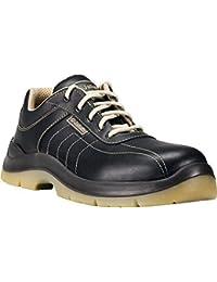 Jallatte J activo Zapatos De Seguridad Zapatos De Trabajo S3 SRC - negro, piel, 38 EU, Negro