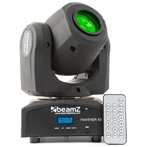 Beamz Panther Bar Bad LED-Disco-schwarz–Zubehör Bar Bad LED-Lampe mit Farbe, Schwarz, LED, 40(S), 45W, 8Farben
