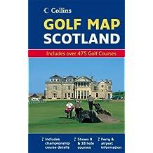 Golf Map of Scotland