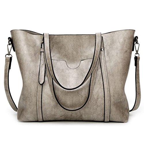 ALARION Damen Handtaschen Schultertasche große Tote Shopper Taschen Henkeltasche Umhängetasche Schulterbeutel (Tote-shopper-tasche-handtasche)